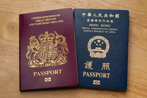 British,National,Oversea,(bno),Passport,And,Hong,Kong,Special,Administrative